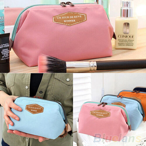 Portable Dreamed Multifunction Travel Cosmetic Bag Makeup Toiletry Case Pouch