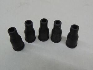 5x-Schutzkappe-Dichtung-Zuendkabel-Zuendverteilerstecker-Verteilerkappe-Huetchen