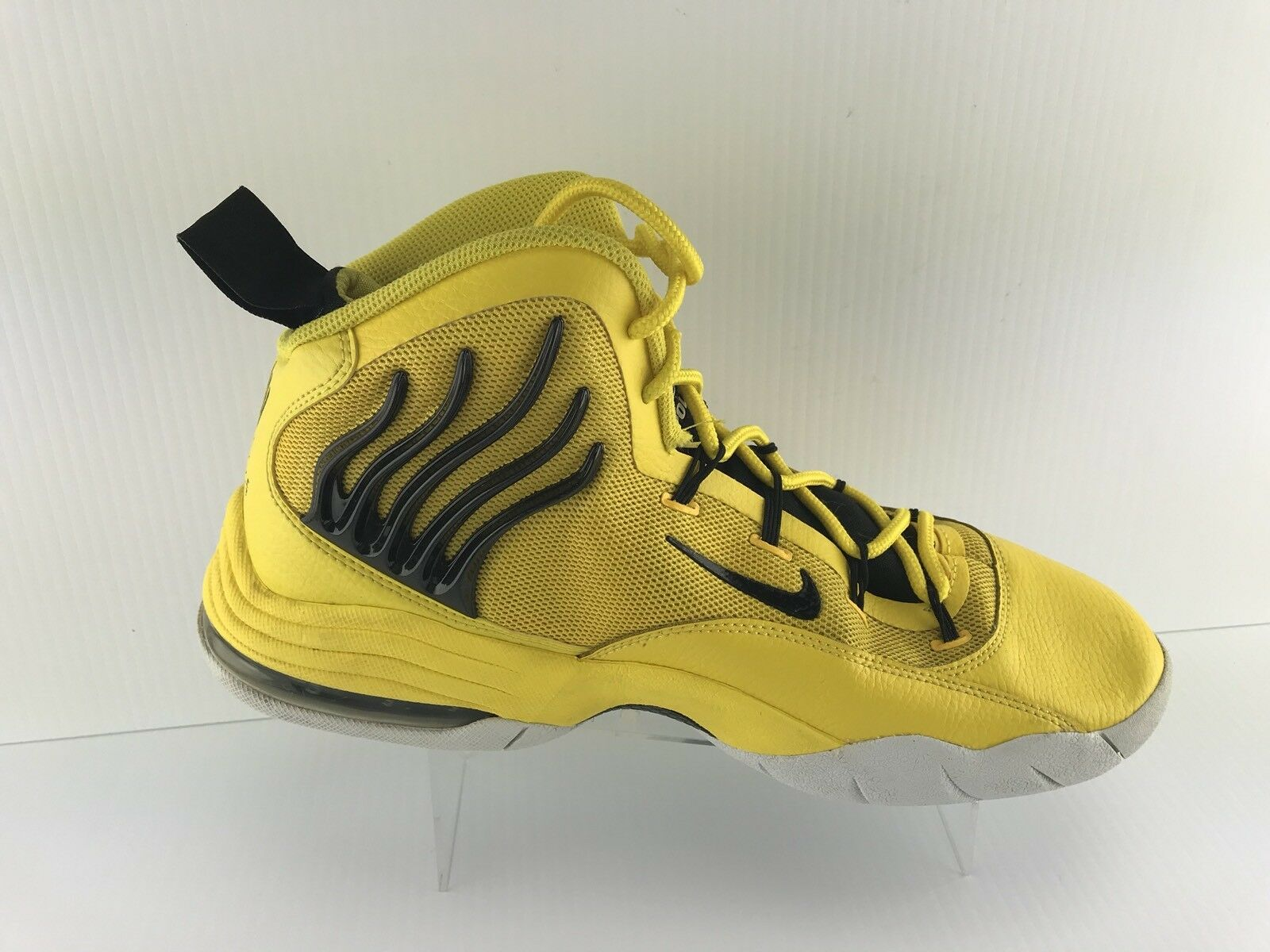 Nike Air Mens Yellow Yellow Yellow Sonic Flight Fun Police Basketball shoes Size 13 01b2ac