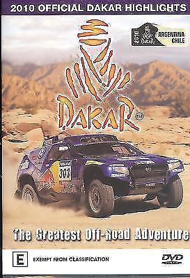 2010 Official Dakar Highlights DVD The Greatest Off-Road Adventure Brand New