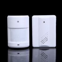 Wireless Infrared Monitor Sensor Motion Detector Entry Door Bell Alarm Chime New
