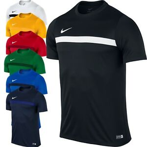 c9a9edc1cf6f Nike Academy JUNIOR BOYS T Shirt Football Sports Top Jersey Tee Size ...