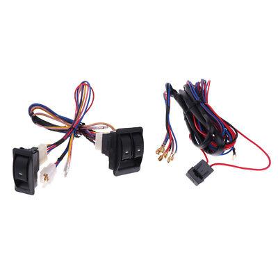 car wiring harness kits car auto power window switch with 12v wiring harness kits  switch with 12v wiring harness kits