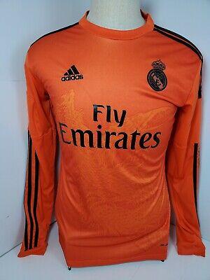 Adidas Real Madrid Yoghi Yamamoto Dragon Orange Soccer Jersey Medium 1 Michel | eBay