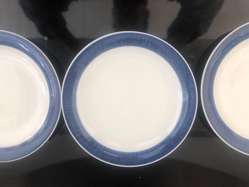 Porcelæn, Middagstallerkener, Rørstrand