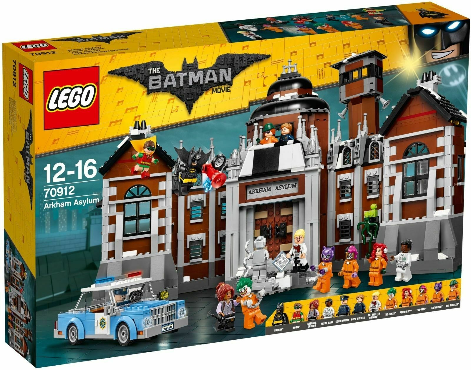 LEGO ® The LEGO ® Batman Movie 70912 Arkham Asylum Neuf neuf dans sa boîte NEW En parfait état, dans sa boîte scellée Boîte d'origine jamais ouverte
