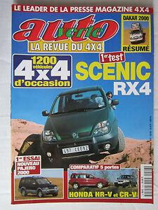 AUTO-VERTE-4X4-N-226-SCENIC-RX4-PAJERO-2000-HONDA-HR-V-ET-CR-V