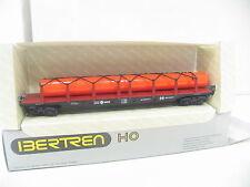 IBERTREN 2461 4achs RUNGENWAGEN mit LADUNG der RENFE  BW1355
