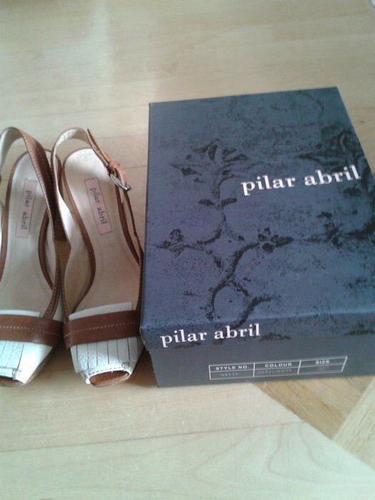 Pilar Abril - - Pumps-Sandalen - Gr.37 - Abril Leder 53f83d