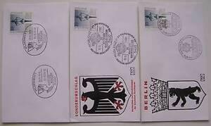 Bundespost-Berlijn-3-FDC-met-Speciale-stempels-1979-80