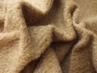 Toffee Mohair Fur Fabric - Short Pile, Mohair Bears, Bear Making, Ooak