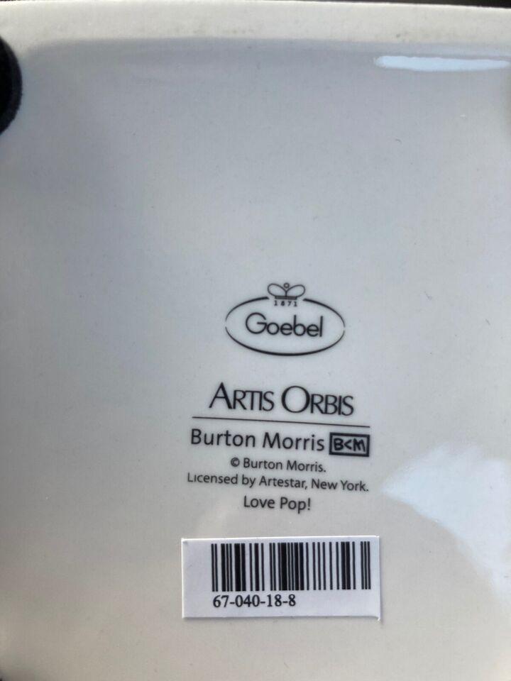 Porcelæn, Love pop, Goebel