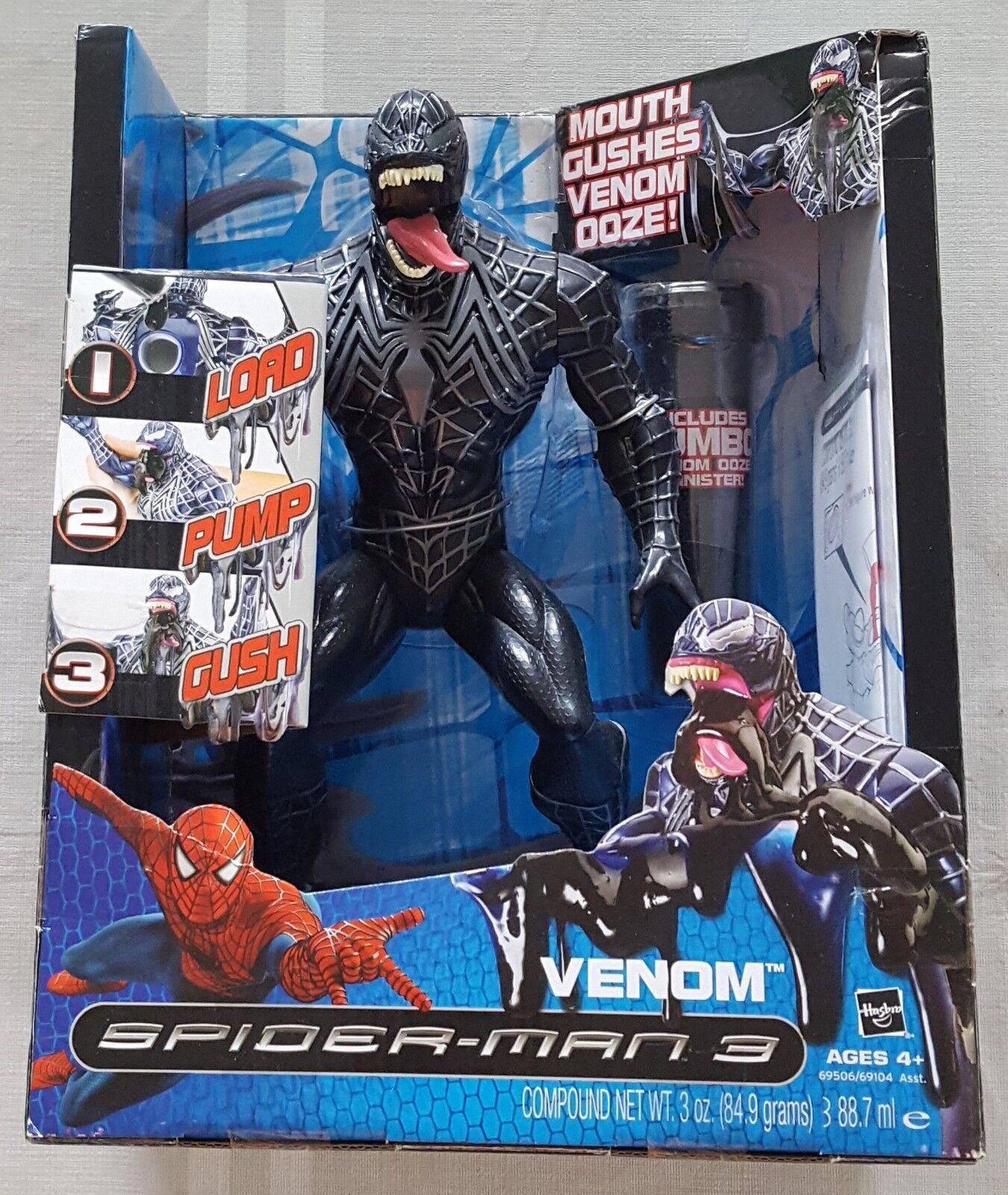 Spider-man 3 Venom 12  Action Figure - Hasbro - Great Condition