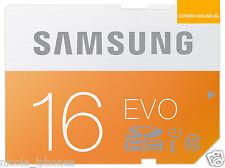 Samsung 16GB Evo MicroSDXC UHS-I Grade 1 Class 10 Memory Card with SD Adapter