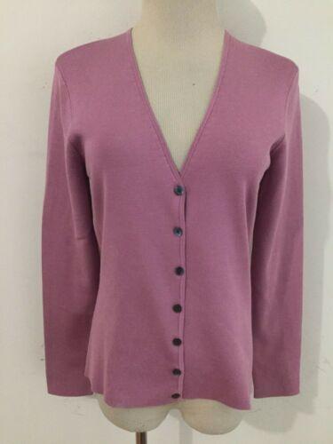 Ann Taylor Silk/Nylon Cardigan Sweater Lilac Size… - image 1