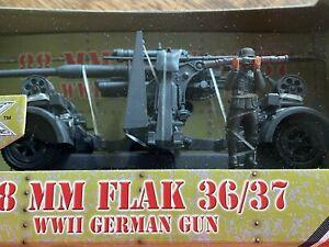 Ultimate-Soldier-88-MM-FLAK-36-37-WWII-German-Gun-1-32-Scale-99338-New