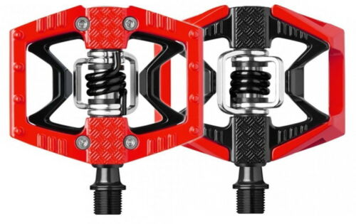 Crank Brothers Double Shot 2 Clipless /& Platform Bike Pedals Black Orange Blue