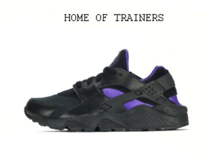 Nike Air Huarache Black Purple