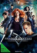 SHADOWHUNTERS-STAFFEL 1 (KATHERINE MCNAMARA, DOMINIC SHERWOOD,...)  DVD NEU