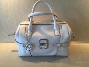 GUESS-Tasche-Handtasche-Box-Satchel-Stone