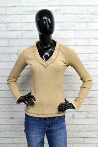 Maglione-MARLBORO-CLASSICS-Taglia-Size-XS-Donna-Pullover-Cardigan-Woman