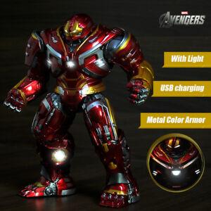 8-039-039-Avengers-Armor-Iron-Man-Hulkbuster-2-0-Action-Figure-LED-Mark44-Statue-Toy