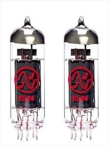 2x EL84 JJ-Electronic PAIR DUET valvola tubes MATCHED 6BQ5 2pcs 2 pcs