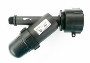 Heavy-Duty-IBC-Adapter-with-In-Line-Bottle-Type-Water-Filter-120-Mesh