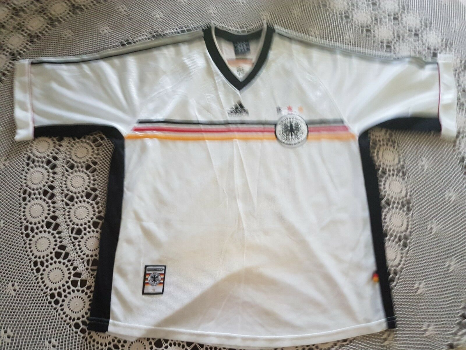 Germany 1998 home jersey x large size