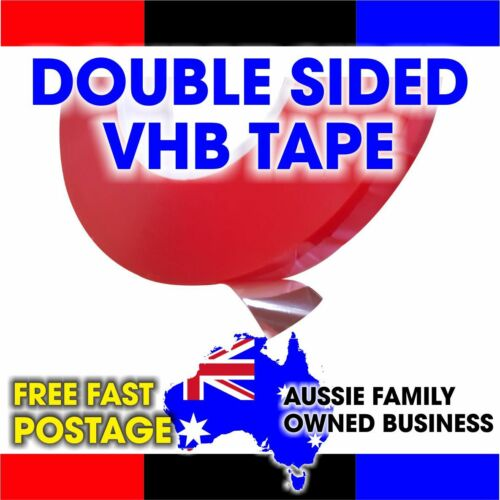 0.2mmx25mmx50m Double Sided Tape Tesa equivalent VHB Clear