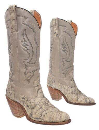 Vintage Miss CAPEZIO Cowboy Boots 7 M Womens Faux
