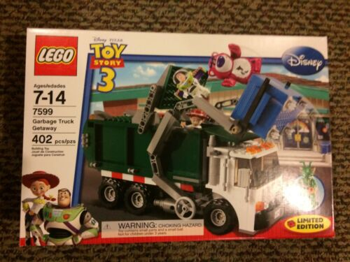 LEGO 7599 Toy Story Garbage Truck Getaway BRAND NEW SEALED