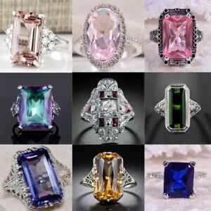 Fashion-Women-925-Silver-Morganite-Gemstone-Ring-Engagement-Wedding-Jewelry-6-10