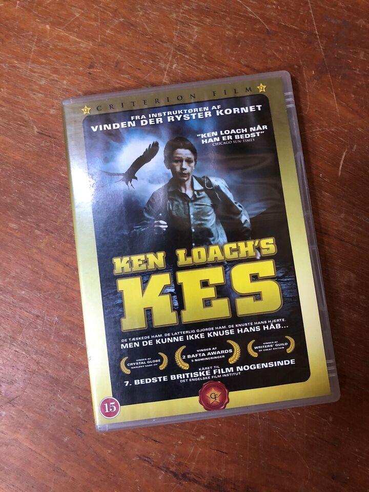 Ken Loach's KES, DVD, drama