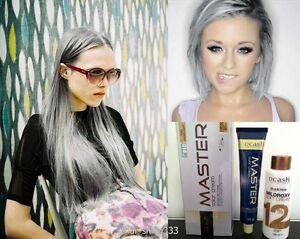 Best Ash Gray Hair Dye Set Dark Grey And
