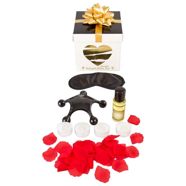 SHINE BOX Romantic Sensual Kit Shots Toys