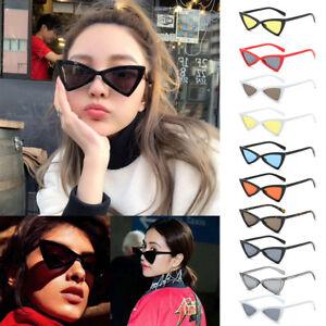 61c99ddbb3 Cat Eye Triangle Lolita Small Retro Vintage 90 S Women Sunglasses ...