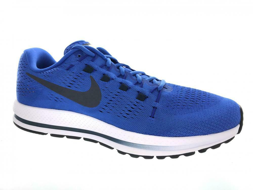 188cafeadd454 Men s Nike Air Zoom Vomero Vomero Vomero 12 Running Athletic shoes  863762-407 Mega bluee