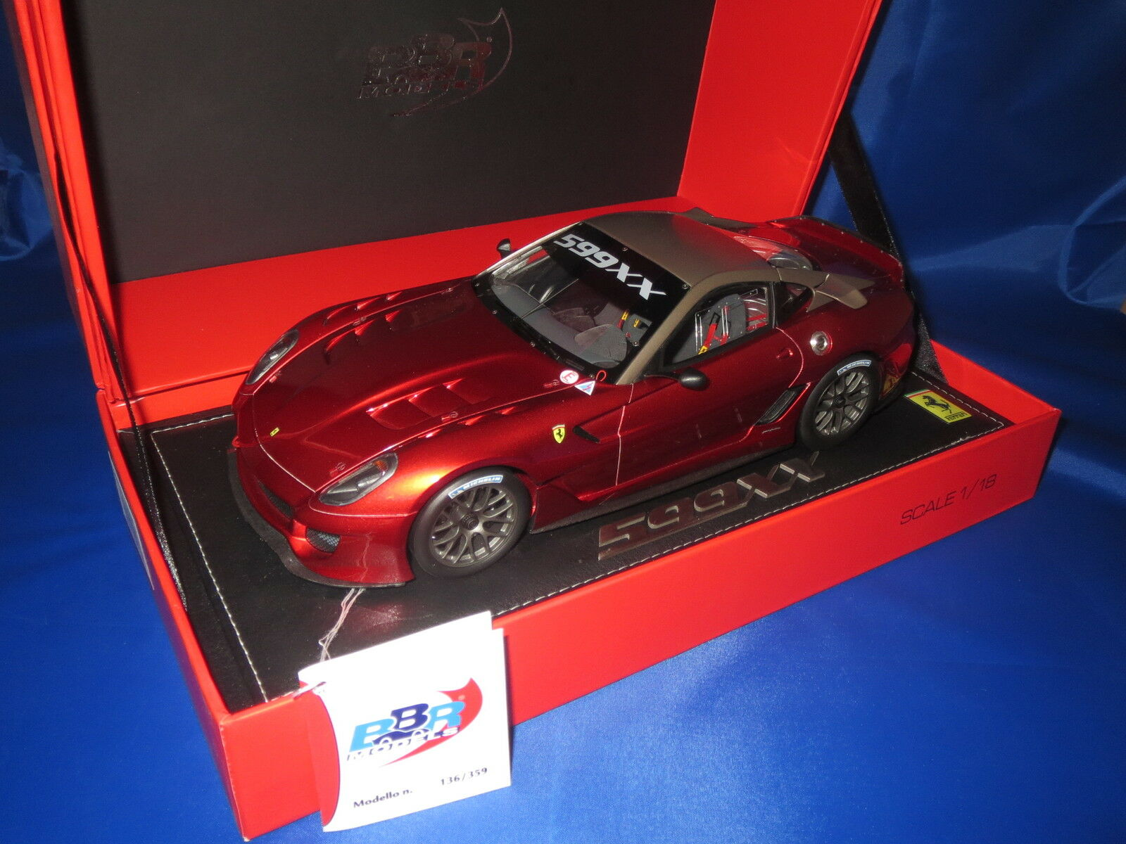 BBR p1815 Ferrari 559xx race version 2009 en 1 18 - BERLINE 359 pc, rare