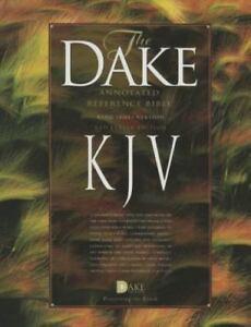 Dake-039-s-Annotated-Reference-Bible-KJV-Burgundy-Bonded-Leather-BRAND-NEW