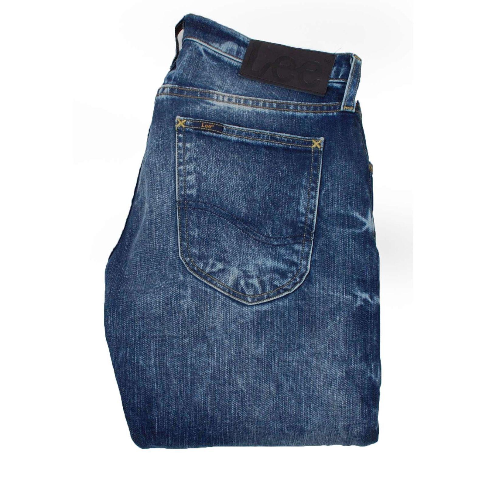 LEE Luke Slim Fit bluee men Jeans Size 28 32