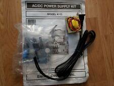 Elenco Acdc Power Supply Kit Model K 11 Unbuilt Kit