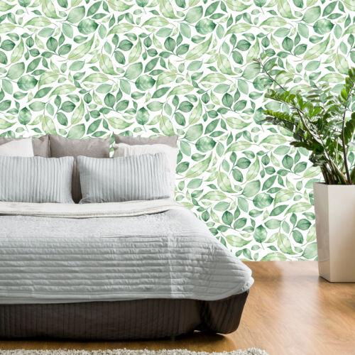 Feuilles Botanique Plantes Papier Peint Nappes Papier peint XXL Graffiti b-c-0249-j-a