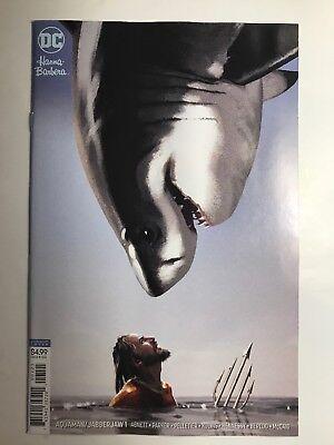 NM Jabberjaw Special #1B Variant Joshua Middleton Cover 2018 DC Aquaman