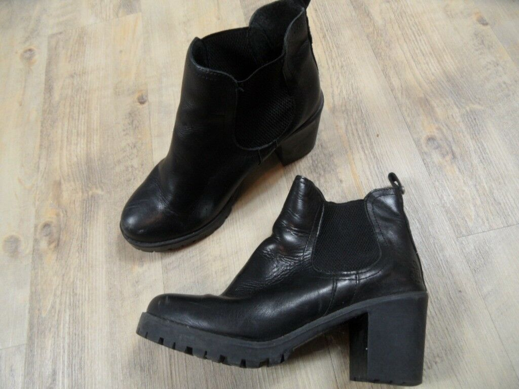 SOMMERKIND coole Boots black Gr. 38 TOP WiM218