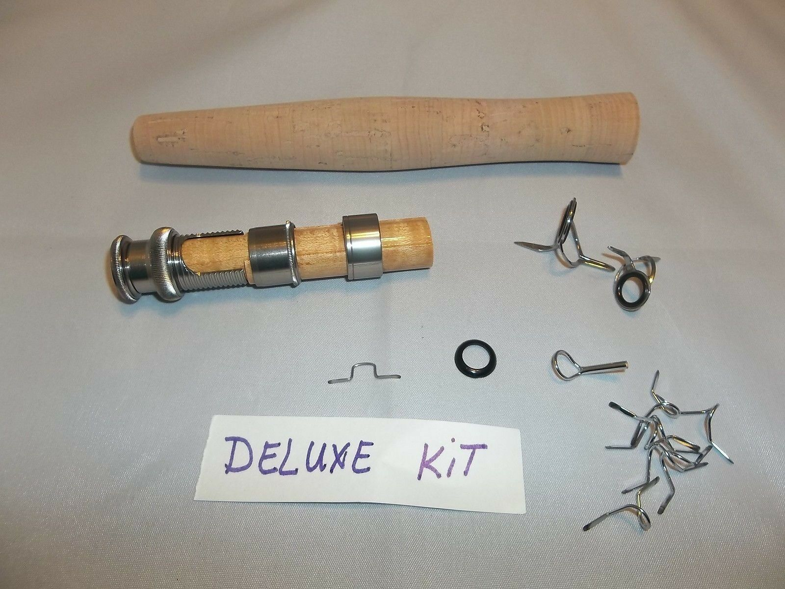 Components for Fly rod  building fits fly rods  8' 6  for 4, 5, 6, & 7 WT Deluxe  luxury brand