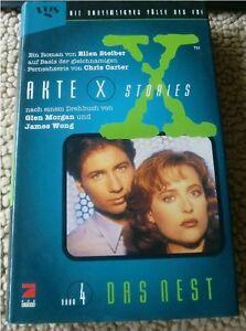 Ellen-Steiber-AKTE-X-STORIES-Band-4-Das-Nest-121-Seiten-1996-gebunden