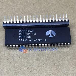 5PCS-R6532P-R6532AP-R6532-8-BIT-Microprocessor-DIP-40-IC-CHIP-New