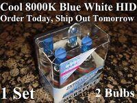 9007 Hid Headlight 1995 1996 1997 1998 98 Ford Explorer 8000k Xenon Blue Bulbs