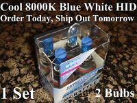 9007 Hid Headlight 1995 1996 1997 1998 98 Ford Explorer 8000k Xenon Blue Bulbs